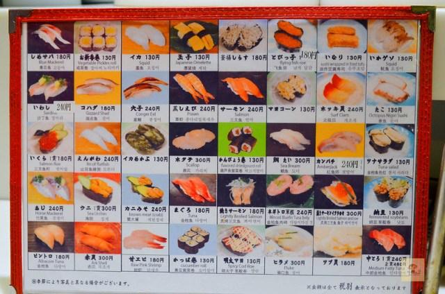 上野浜よし迴轉壽司, 上野美食推薦, 上野壽司推薦, 上野必吃美食