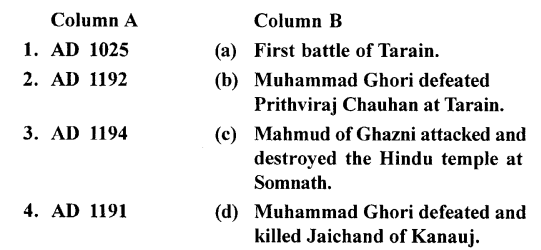 ICSE Solutions for Class 7 History and Civics - The Turkish Invaders - HIS-33336