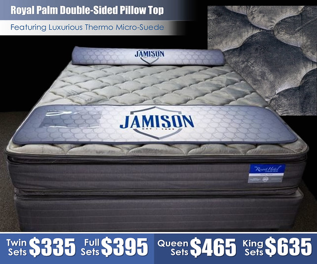 Royal Palm Double Sided Pillow Top Mattress