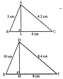 RD Sharma 10 Chapter 4 Triangles