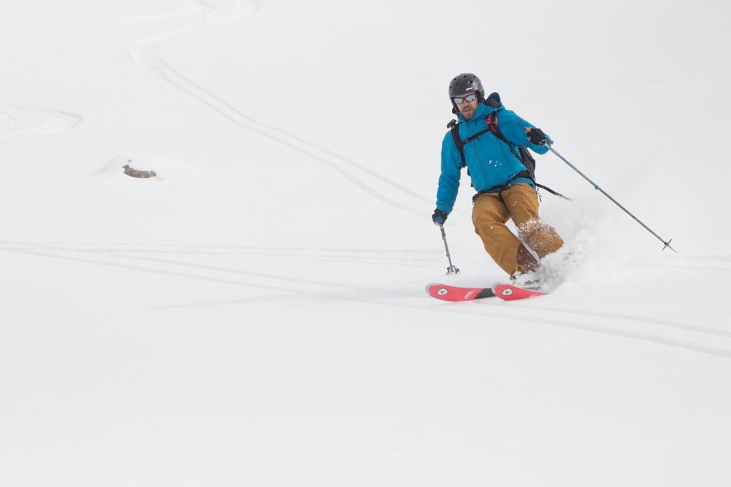Skiing in Ak-Suu