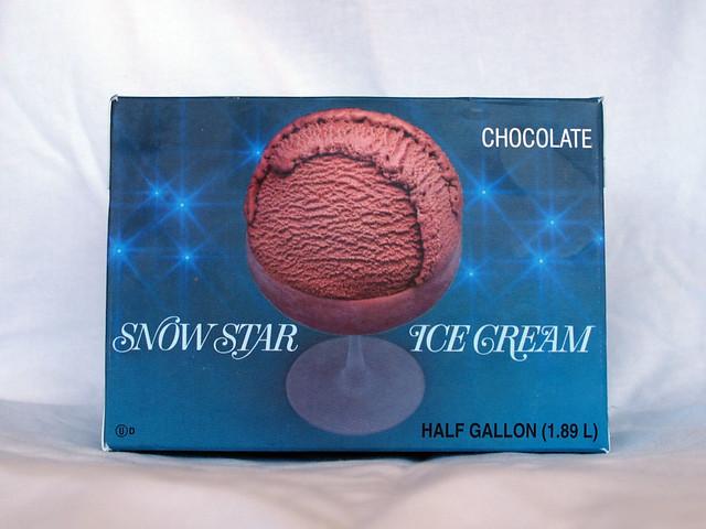 Snow Star Ice Cream Chocolate Flickr Photo Sharing