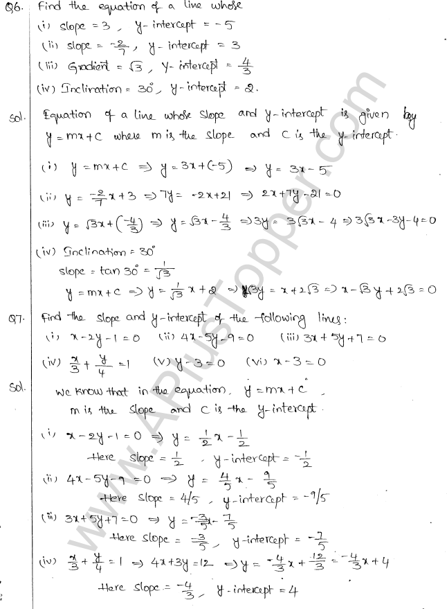 ml-aggarwal-icse-solutions-for-class-10-maths-chapter-12-equation-of-a-straight-line-2