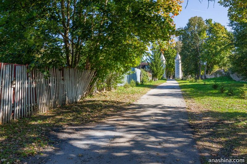 Дорога в парк, Полотняный Завод