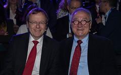 Jan Wörner, DG ESA and Jean-Jacques Dordain, former ESA Director General
