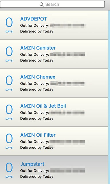 AMZN Has almost completely moved to USPS