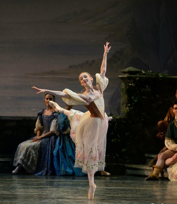Catherine Hurlin in Swan Lake, Photo Credit: Gene Schiavone