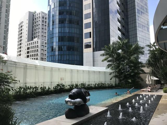 Piscine  - St Regis Singapour