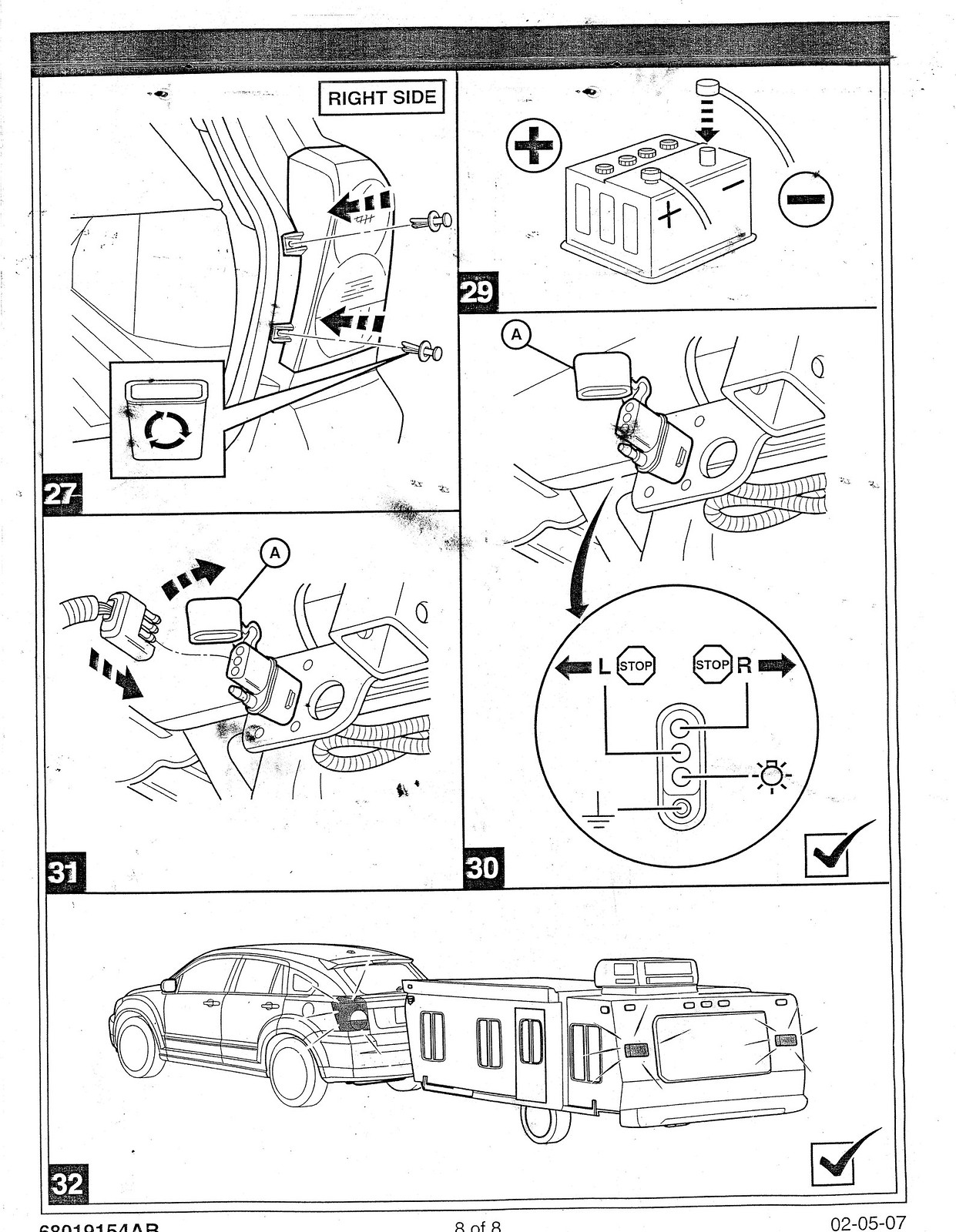 07 Fdi Tow Wiring Harness Install Manual