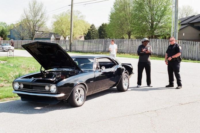 Cop and camaro