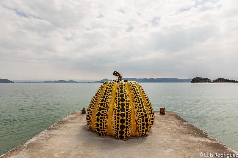 Calabaza de Yayoi Kusama