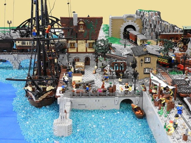 Brickerei: Victorian City (5)