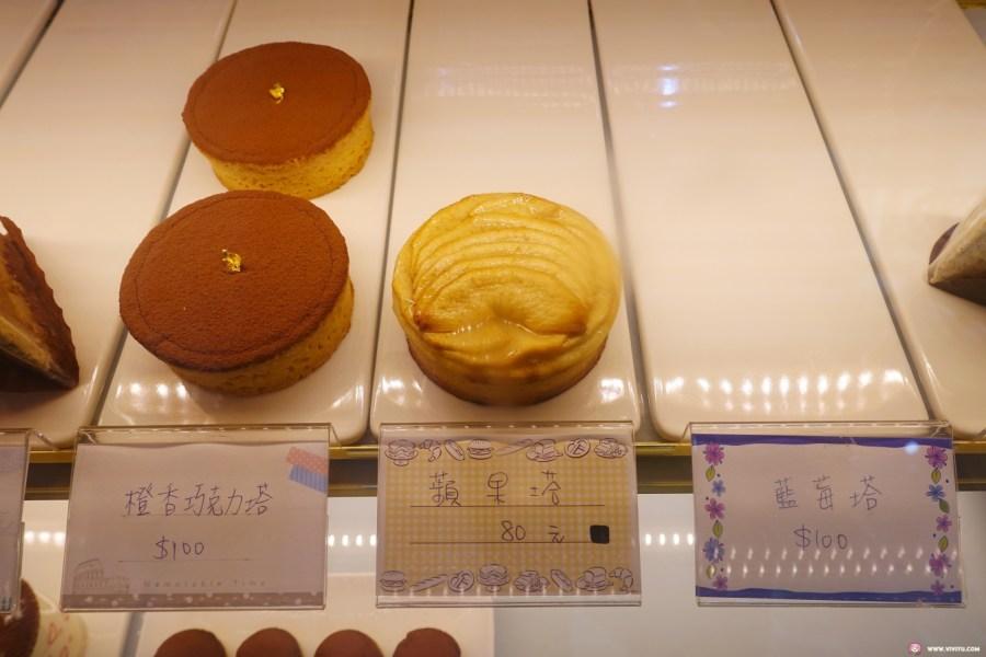 下午茶,卡布奇諾,咖啡,桃園甜點,桃園舒芙蕾,焦糖布丁,甜點,舒芙蕾,艾米堤甜點,艾米媞甜點工坊,草莓伯爵蛋糕,藍帶甜點,藍莓塔,蘋果塔,蛋糕 @VIVIYU小世界