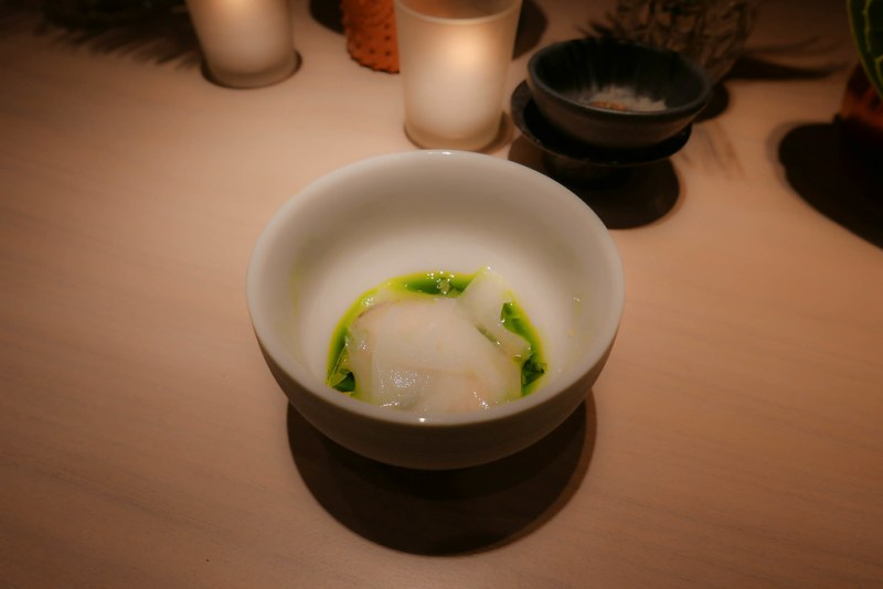Oyster, sorrel, lovage | Atsuhi Tanaka | A.T. |Paris, France