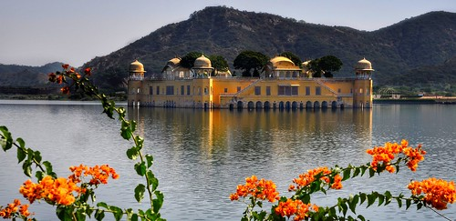 Water Palace, Jal Mahal. From Explore the Golden Triangle of India