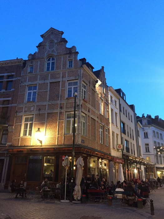 Barrio Santiago, Bruselas. Brussels, Belgium