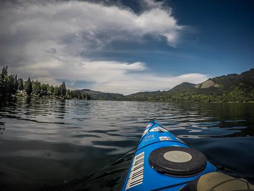 Lake Samish Paddling-43