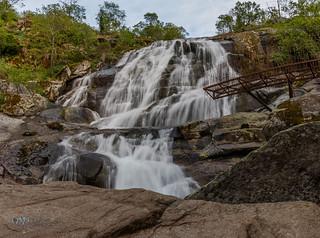 Cascada del Caozo -  Garganta del Bonal. Valdastillas.  03-05-18.