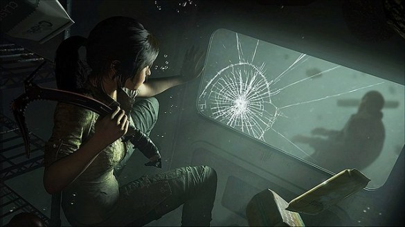 Shadow of the Tomb Raider - Cracked Glass