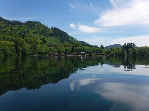 Lake Samish Paddling-59