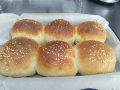 Slider potato rolls