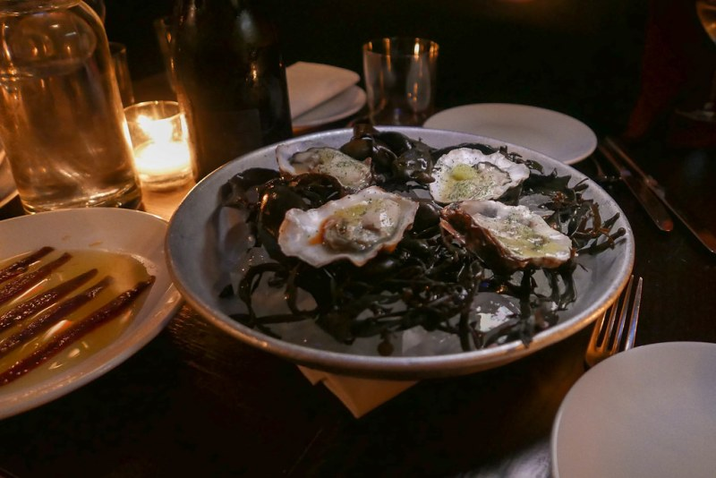 This dish has been on the menu since Noble Rot opened. in 2015 Rock Oyster 'Raveneau' ($4/ea)