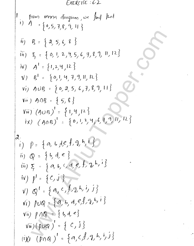 Ml Aggarwal Icse Solutions For Class 8 Maths Chapter 6 Operation On