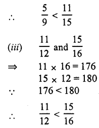 RS Aggarwal Class 7 Solutions Chapter 2 Fractions Ex 2A
