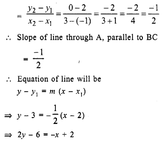 Selina Concise Mathematics Class 10 ICSE Solutions Chapter 14 Equation of a Line Ex 14E 17.1