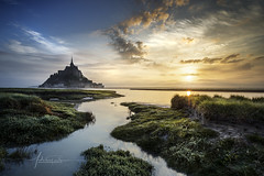 Mont-Saint-Michel / France