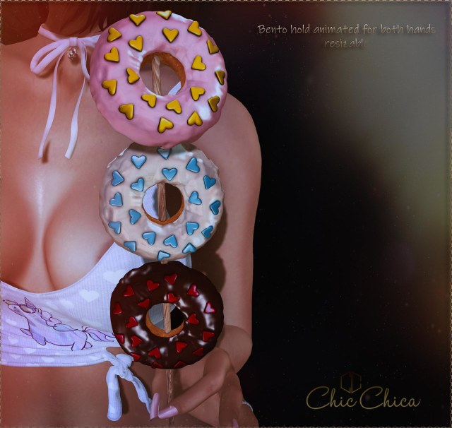 Donuts kebab by ChicChica @ Notice me, Senpai