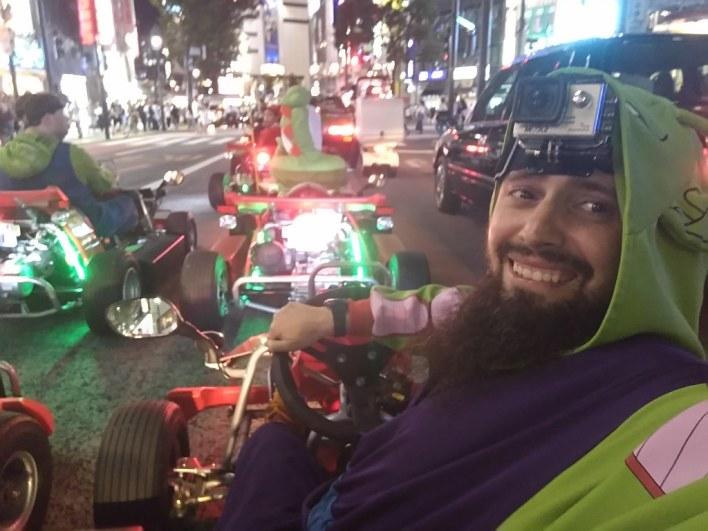 Recorre Tokio, en un kart y disfrazado como en un videojuego, con MariCAR.