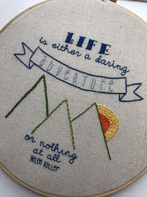 Embroidery Quotes Daisyeyes Handmade