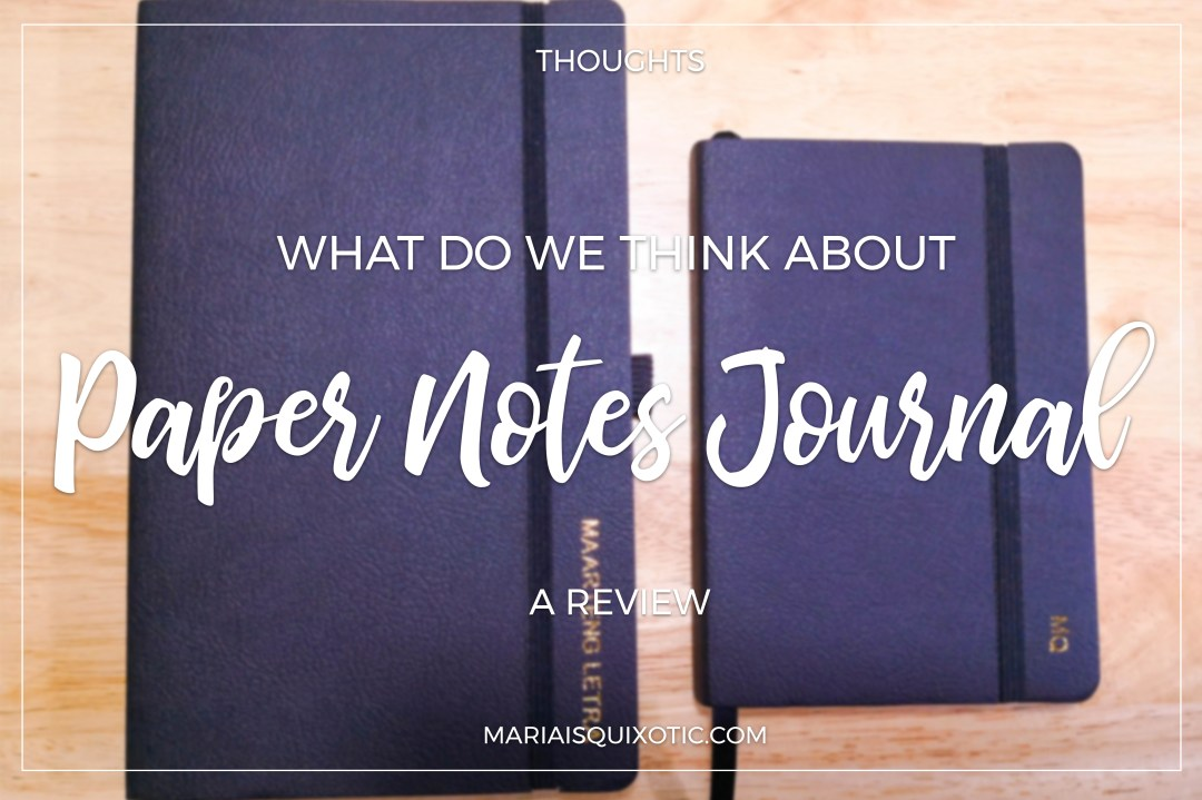 Paper Notes Journal: The Review