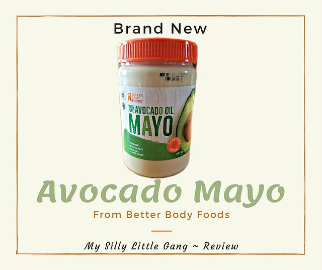 Brand New: Avocado Mayo From Better Body Foods!