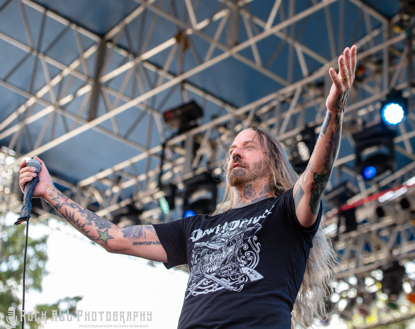Devil Driver - Inkcarceration Festival Day 3- Mansfield, OH - 7/15/18