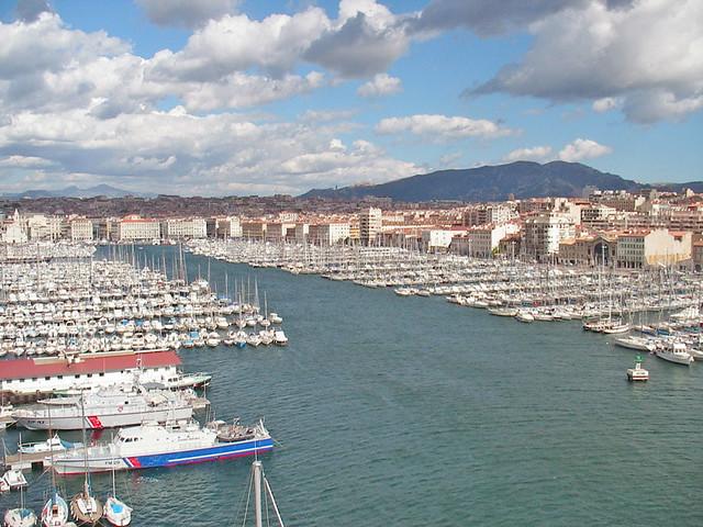 Le Vieux-Port de Marseille (France)
