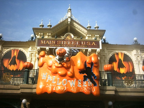 Halloween à Disney avec copine d'amour - octobre 06