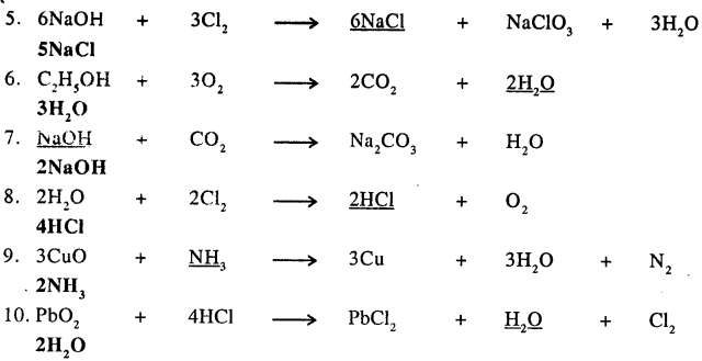 New Simplified Chemistry Class 9 ICSE Solutions - The Language Of Chemistry - 26