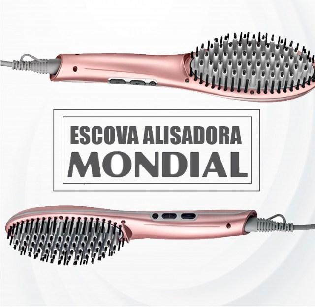 Resenha: Escova Alisadora Mondial