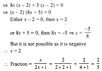 Selina Concise Mathematics Class 10 ICSE Solutions Chapter 6 Solving Problems Ex 6A 10.1