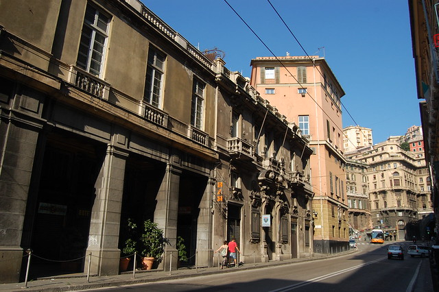 Street in Genoa