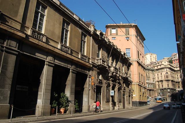 Street in Genoa