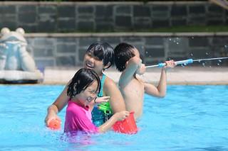 수영장, 그리고 엄마