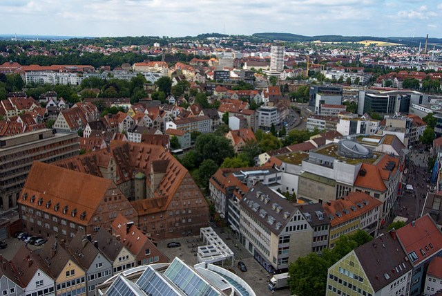 Ulm from the tower