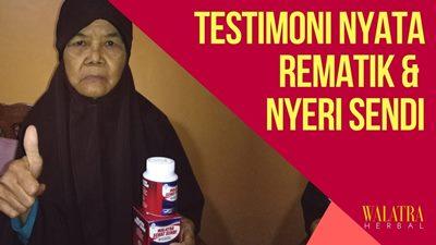 testimoni / bukti nyata keampuhan obat nyeri sendi
