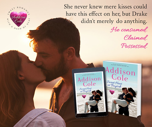 Sweet Heat at Bayside by Addison Cole Book Tour