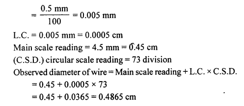 A New Approach to ICSE Physics Part 1 Class 9 Solutions Measurements and Experimentation 31.3