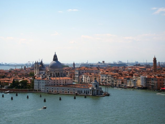 Punta della Dogana at the Meeting of the Grand and Giudecca Canals, Venice
