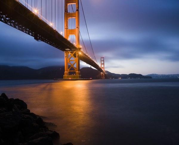 Golden Gate Bridge at Dusk, Dedicated to My Good Friend Robert Scoble